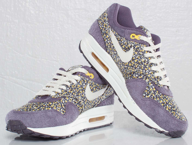 Liberty Of London X Wmns Air Max 1 ND Plum Floral Nike