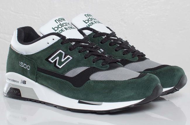 new balance 1500 white green