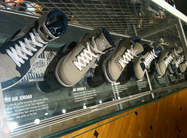 """Air Jordan """"Georgetown"""" Collection at Nike Georgetown"""