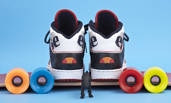 "ellesse heritage ""Fab 5 Project"" Part II x SPECIAL ""Assist"""