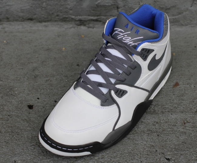new arrival 46c95 43d9b ... inexpensive nike air flight 89 white grey royal blue 45dae d2ed1
