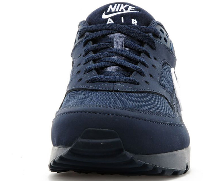 new product 23ccc 55deb nike air max classic bw blue