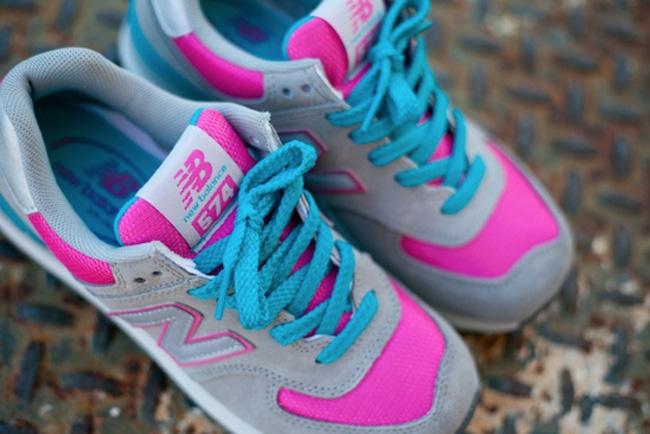 Eukicks Balance New 574GreyHot Og Pinkamp; Sneaker Magazine Teal ulK3cTF1J