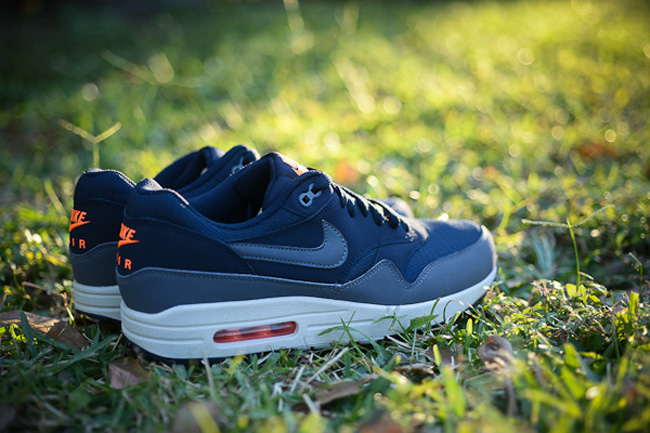 fast delivery best look out for france nike air max 1 black blue orange ac5ff 49a1d