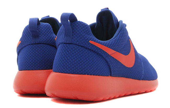 save off 83a4a ef5de ... coupon code for nike roshe run blue orange d5a13 a4376