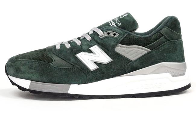 Mita Sneakers x Oshman's x New Balance 998 Made in USA