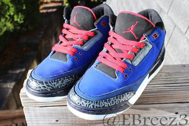 9cecb566a7e Air Jordan 3 Custom