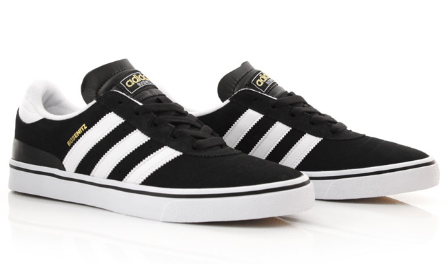 purchase cheap e8df1 f2687 adidas Skateboarding Busenitz Vulc   Black   White