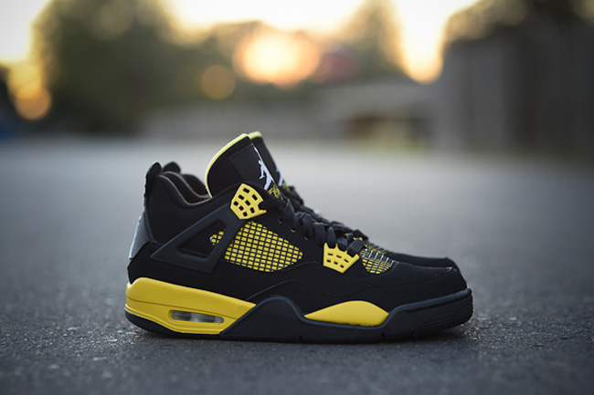 pretty nice 5fcbb 6d857 air jordan iv 4 retro thunder