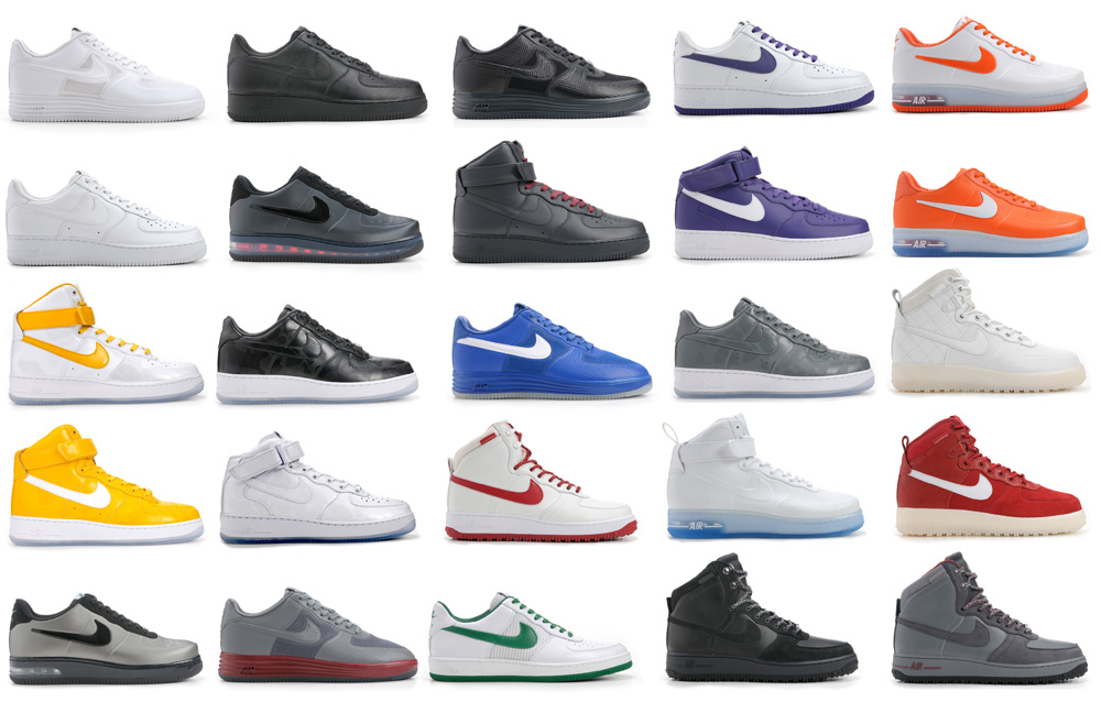 Nike Air Force One Collection