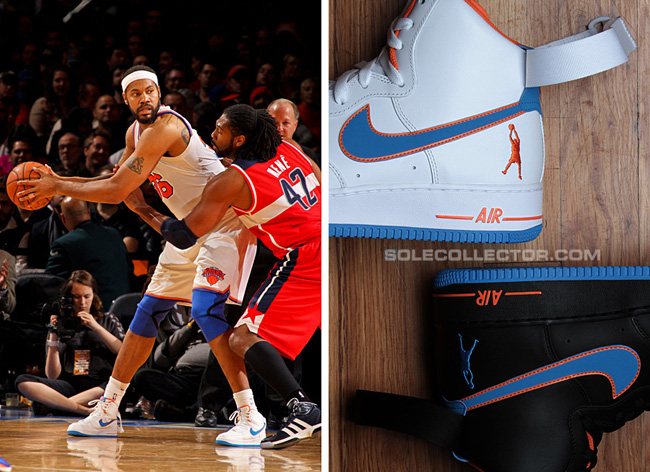 "online retailer 20746 360b3 Rasheed Wallace 2012-13 Season ""Home†Nike Air Force ..."
