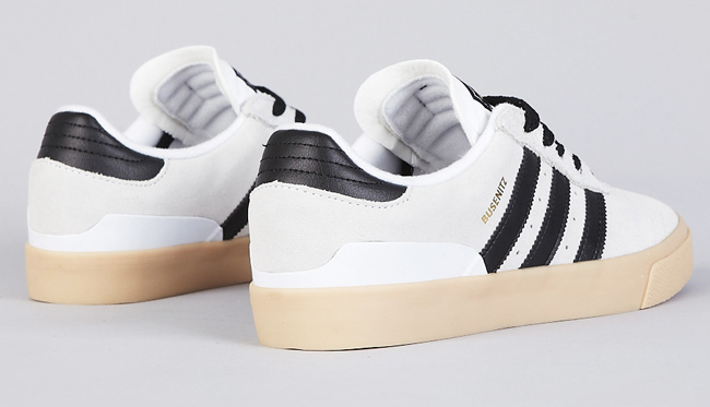 adidas Blanc, Skateboarding Busenitz Vulc Running Blanc, adidas Noir Gum EU 0f820e