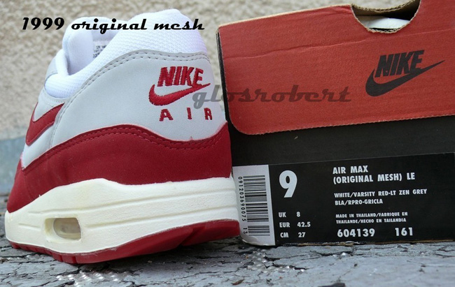 the best attitude a5c61 ef22f ... reduced found on ebay instant nike air max 1 og red collection fb0da  e9bd1