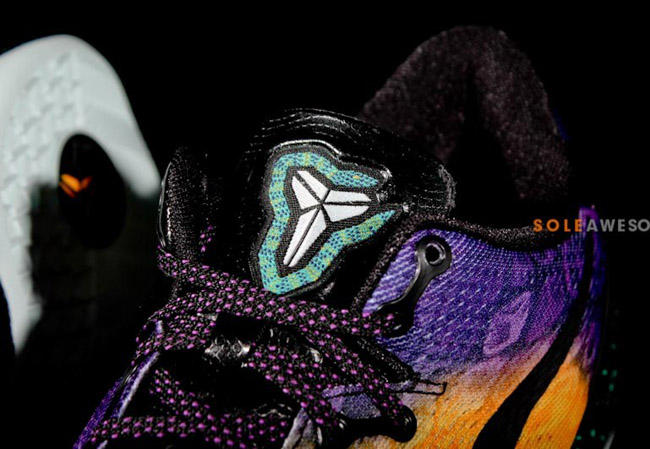 Nike Kobe 8 | Aqua, Yellow & Purple