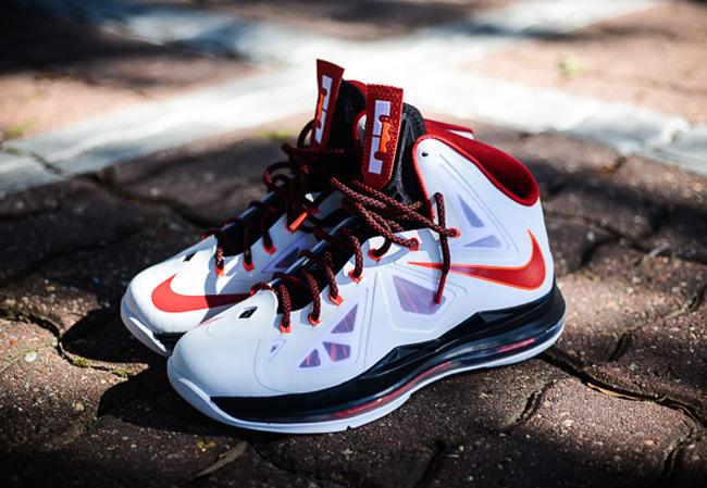 lowest price e0005 b7a75 ... First Look Nike LeBron X Miami Heat Home ... Nike LeBron X (10) ...