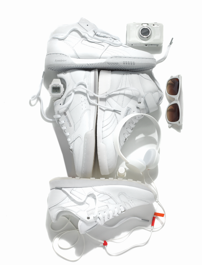 Reebok: The Classic White Collection