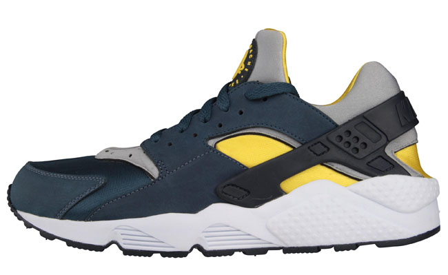 outlet store 75d27 c08fd ... best price nike air huarache blue grey yellow 59ce8 15a52