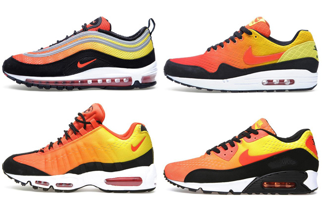 separation shoes 51aad c831c Preview: Nike Air Max 'Sunset' Pack - OG EUKicks Sneaker Magazine