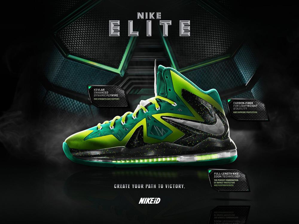 various colors 11df2 6713d Live on Nike iD  LeBron X P.S. Elite