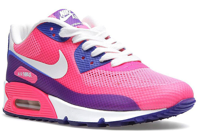 wholesale nike air max 90 hyper pink 2013 womens e506a 31572