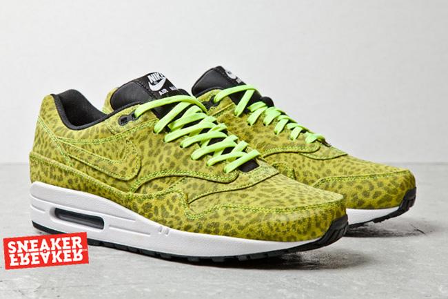 Nike Air Max 1 FB – Orange & Blue Leopard | Sneakhype