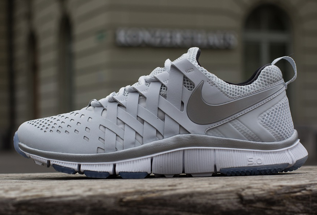 431665565a90 ... cheap release date nike free trainer 5.0 pure platinum reflective  silver ice blue 34d25 8a574 6436f
