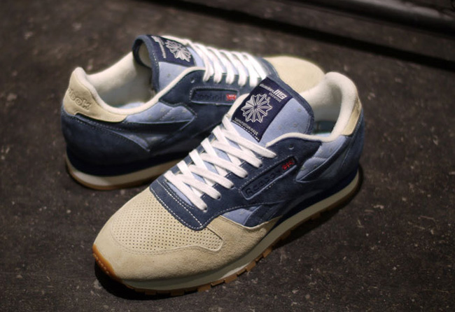 timeless design fe744 a11d9 mita sneakers x Reebok Classic Leather