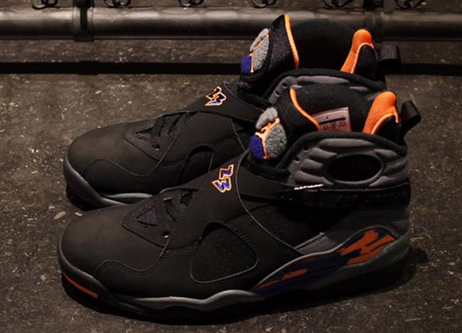 "newest 3cff7 26ed0 ... Release Date Air Jordan 8 Retro ""Phoenix Suns†..."