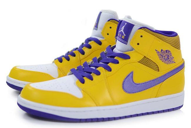 air jordan 1 lakers