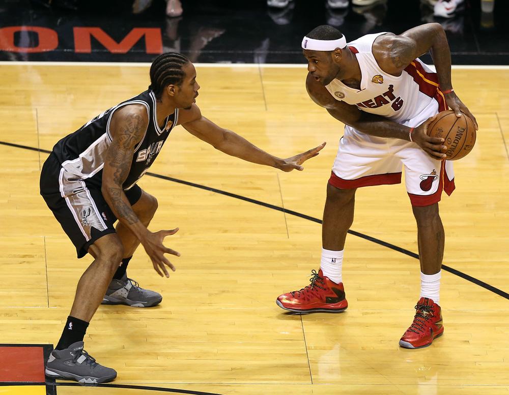 Nike LeBron X PS Elite on Court: Game 1 NBA Finals
