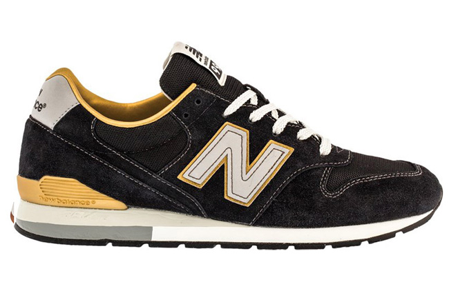 new balance black and gold 996