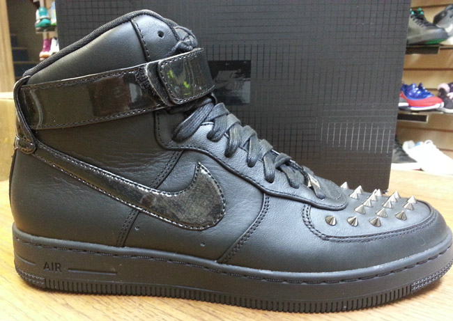 nike air force 1 spikes