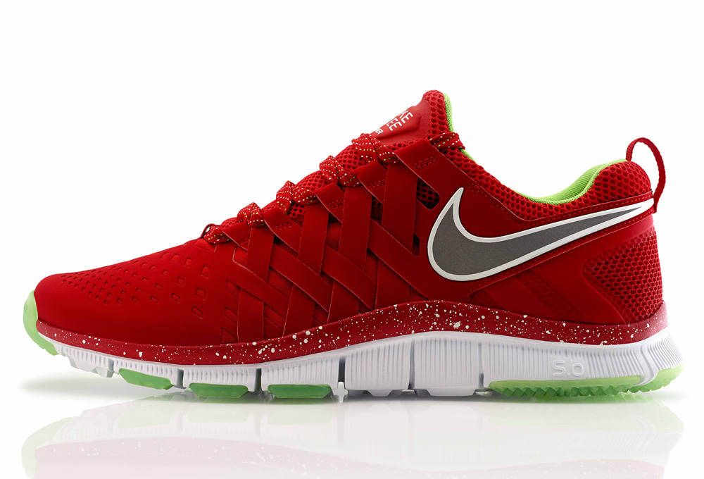 Nike Free Trainer 5.0 NRG University Red Reflective Silver White