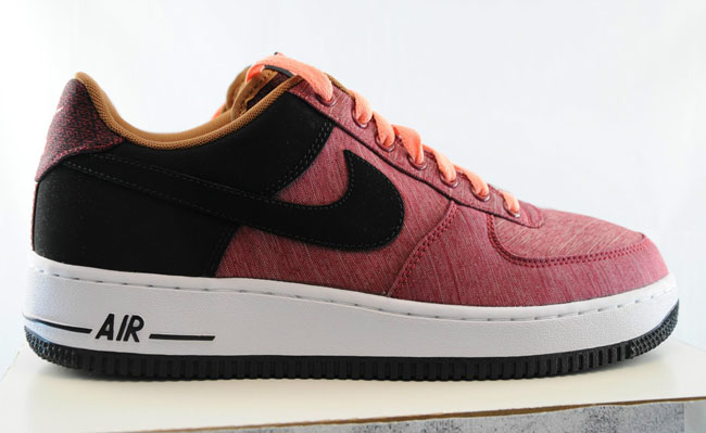 Nike Air Force 1 Noble RedBlack-Atomic Pink Style 488298-612