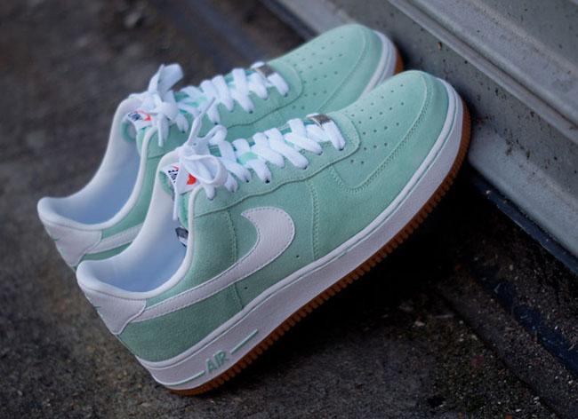 nike air force 1 arctic green