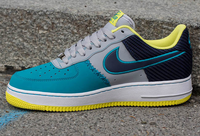 finest selection c7b85 eb397 ... Air Force 1 Wolf Grey Midnight Navy-Tropical Teal Style 488298-039  BUY  Nike ...