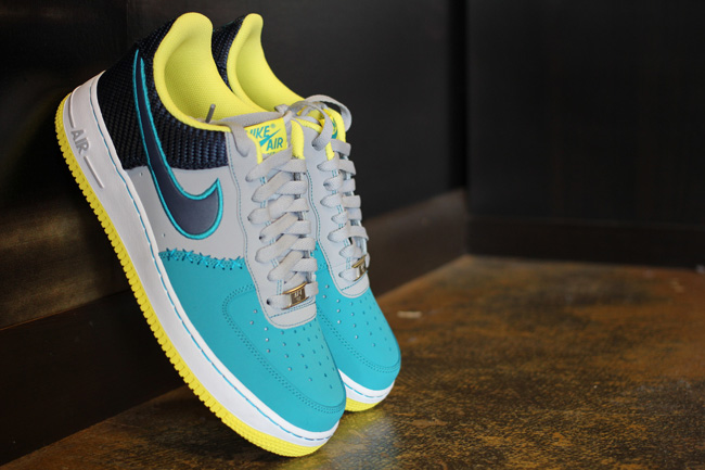 ... ab19b 1aca3 Air Force 1 Wolf GreyMidnight Navy-Tropical Teal Style  488298-039 exclusive ... eb0fd99acbca