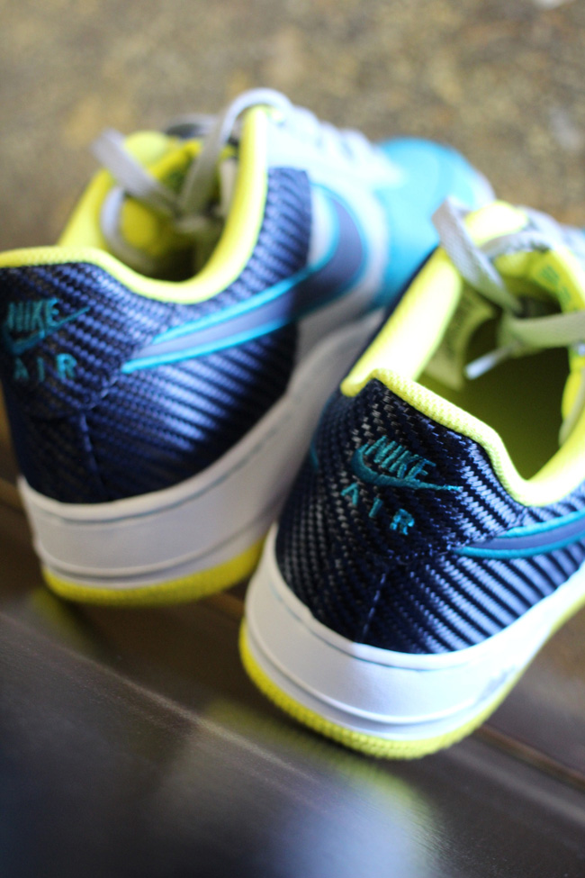 free shipping 670ac 8a7af Air Force 1 Wolf Grey Midnight Navy-Tropical Teal Style  488298-039