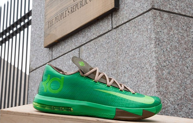 54f716961db4 First Look  Nike KD VI (6)  Bamboo  - EU Kicks  Sneaker Magazine