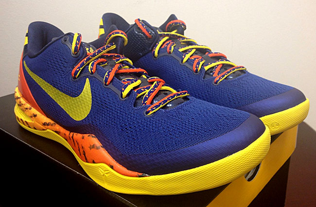outlet store cae84 9c67d Kobe 8 System Deep Royal Blue Team Orange-Mid Navy-True Yellow Style . ...