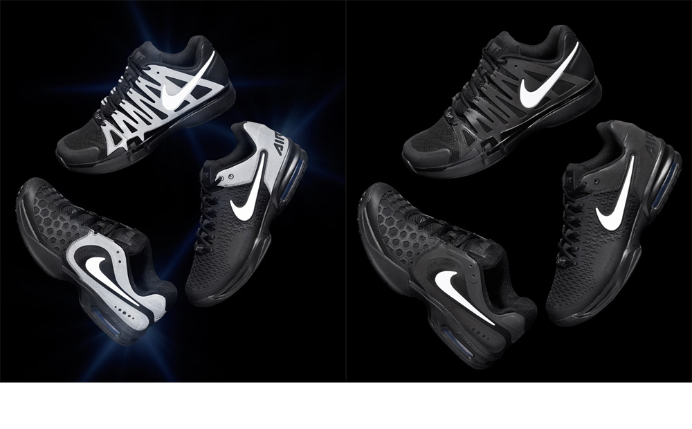 huge discount 7cf83 7265c ... Nike Claim The Night Pack Apparel Tennis Shoes for US Open 2013 - EU  Kicks Sneaker . ...