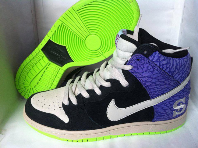 "super popular 66566 ef844 Nike SB Dunk High ""Send Help 2""  First Look Preview · Nike SB Dunk Hi"