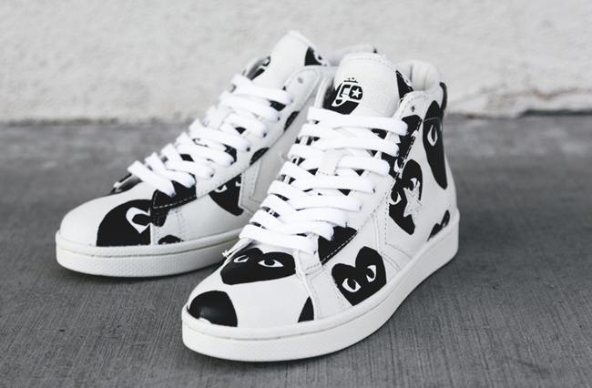 cdg converse pro leather