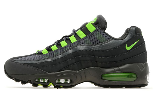 mens nike air max 95 green grey 3fc114b67a5e
