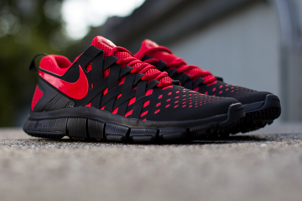 Nike Free Trainer 5.0  Black  Uni Red