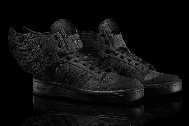 new concept b224a 43ca6 ... adidas Originals x Jeremy Scott x A AP Rocky WINGS 2.0 BLACK FLAG ...