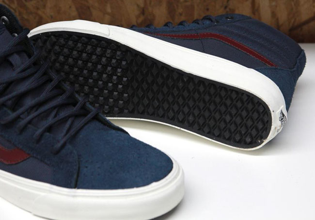 Sneakers Vans California - SK8 HI Reissue Suede - Ombre blue MamTMI