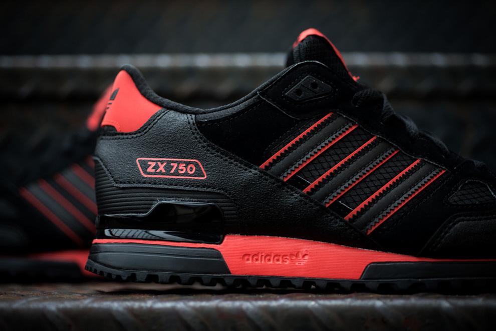 buty adidas czarno czerwone adidasy|Darmowa dostawa!
