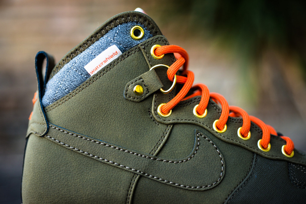 "differently 156d0 57260 ... Dark Loden Nike Air Force 1 Duckboot ""Dark Loden†(Detailed Pics  Release Info ..."
