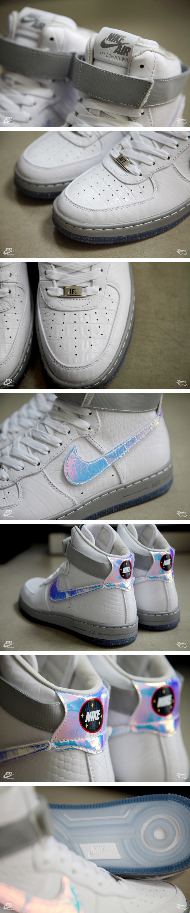 sports shoes 01e60 f1daf Nike Air Force 1 Downtown Hi QS  Hologram